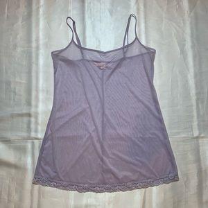 Lace Lavender Slip